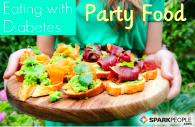 Eating with Diabetes: Party Food | SparkPeople