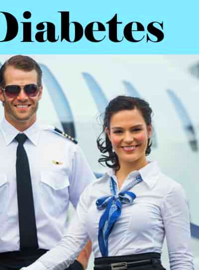 can you become a flight attendant if you have diabetes or no