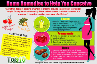Home Remedies to Help You Conceive | Top 10 Home Remedies
