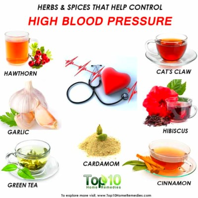 Herbs and Spices that Help Control High Blood Pressure ...