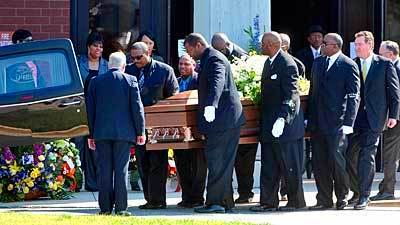 Former Raven Orlando Brown funeral; died from ...