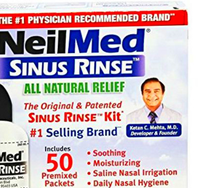 NeilMed's Sinus Rinse Product Review