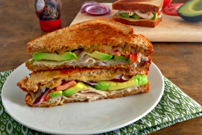 Grilled Turkey Avocado Sandwiches - Your Choice Nutrition