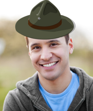 hat overlay