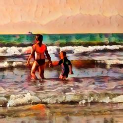 Style transfer result