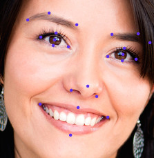 Powerful facial detection for image manipulation
