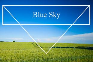 Quality 80% blue sky JPEG photo