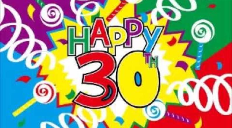 abbastanza Video auguri per compleanno 30 anni! | Auguri di buon compleanno AR56