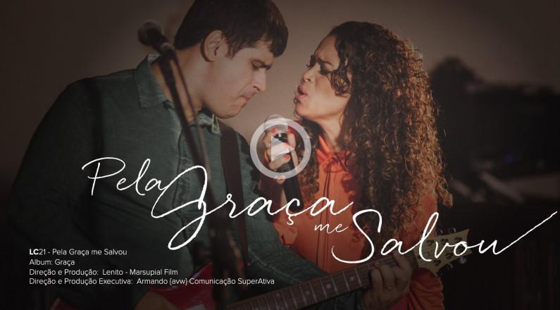 Pela Graça me Salvou - LC21 l CD Graça