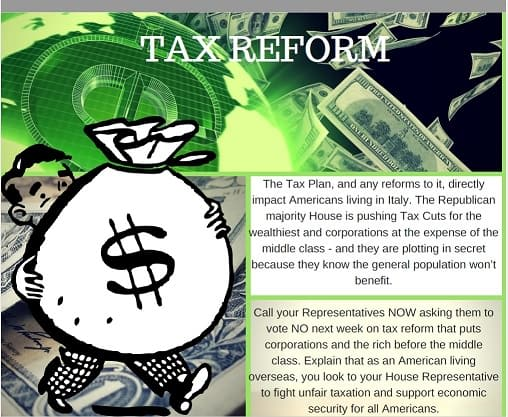 Tell Your Representatives No To The Tax Cut Plan By Gail Fagen