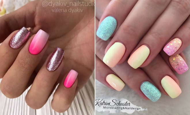 How to do cute summer nails