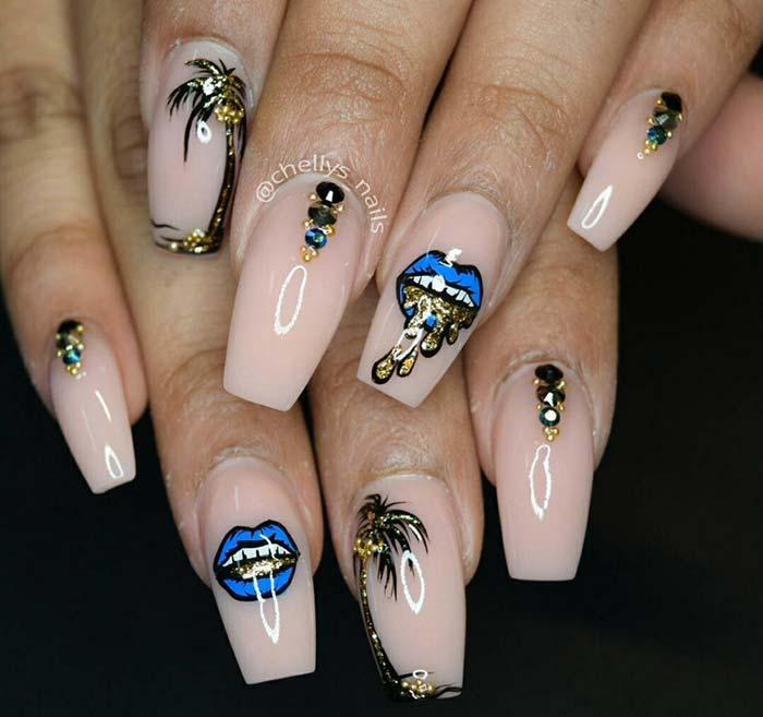 Nails designing