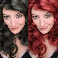 Как поменять цвет волос с темного в светлый