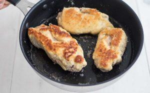 Филе куриное с ветчиной и сыром в панировке