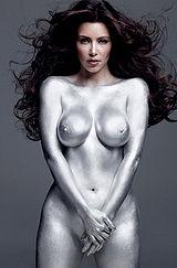 Boobs of kim kardashian