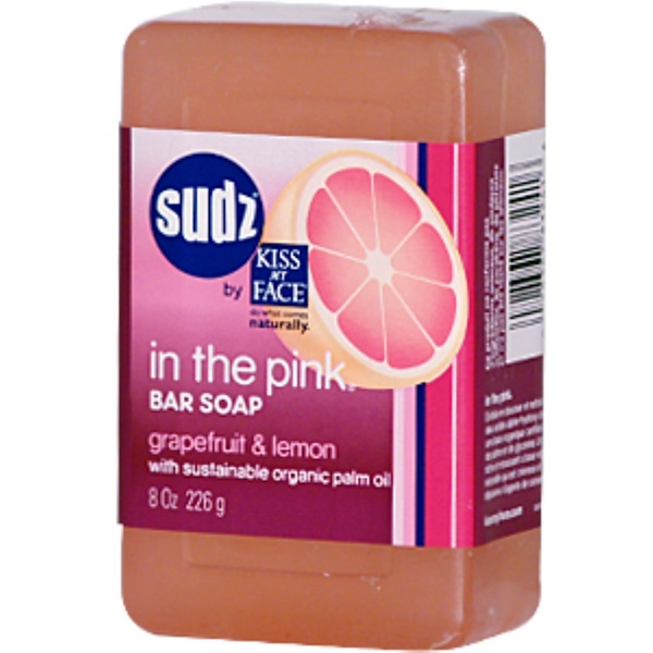 Kiss my face sudz pink bar soap