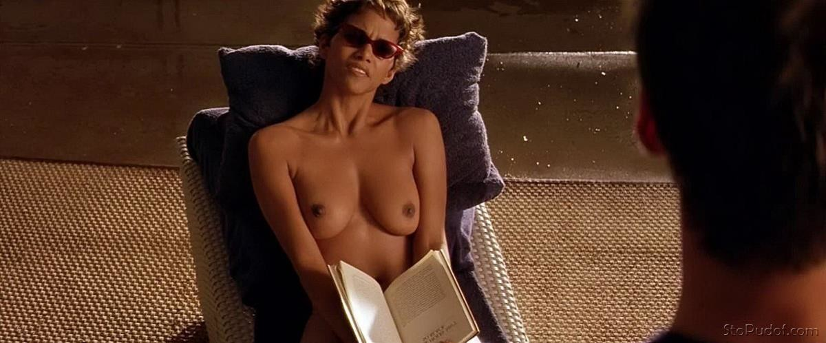 Topless pictures of halle berry