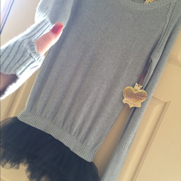 Princess vera wang sweater dress