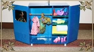Мебель для кукол своими руками