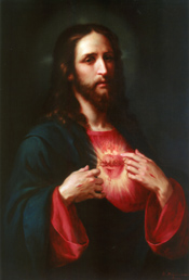 Prayers to the sacred heart of jesus and mary