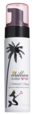 Million Dollar Tan Mermaid Mousse Body sunless tanner