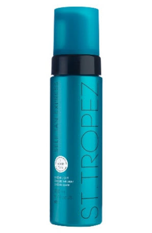 St. Tropez Self-Tan Express Bronzing Mousse  sunless tanner