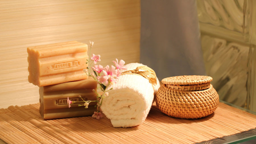 Angelica root dry skin spa bath items
