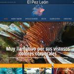 Diseño de Página Web en Caracas - El Pez Leon