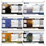Calendarios PDVSA 2005