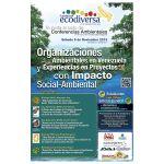 Afiche evento de inauguracion Ecodiversa