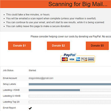 buscando email mas grandes
