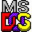 Logo de MS-DOS