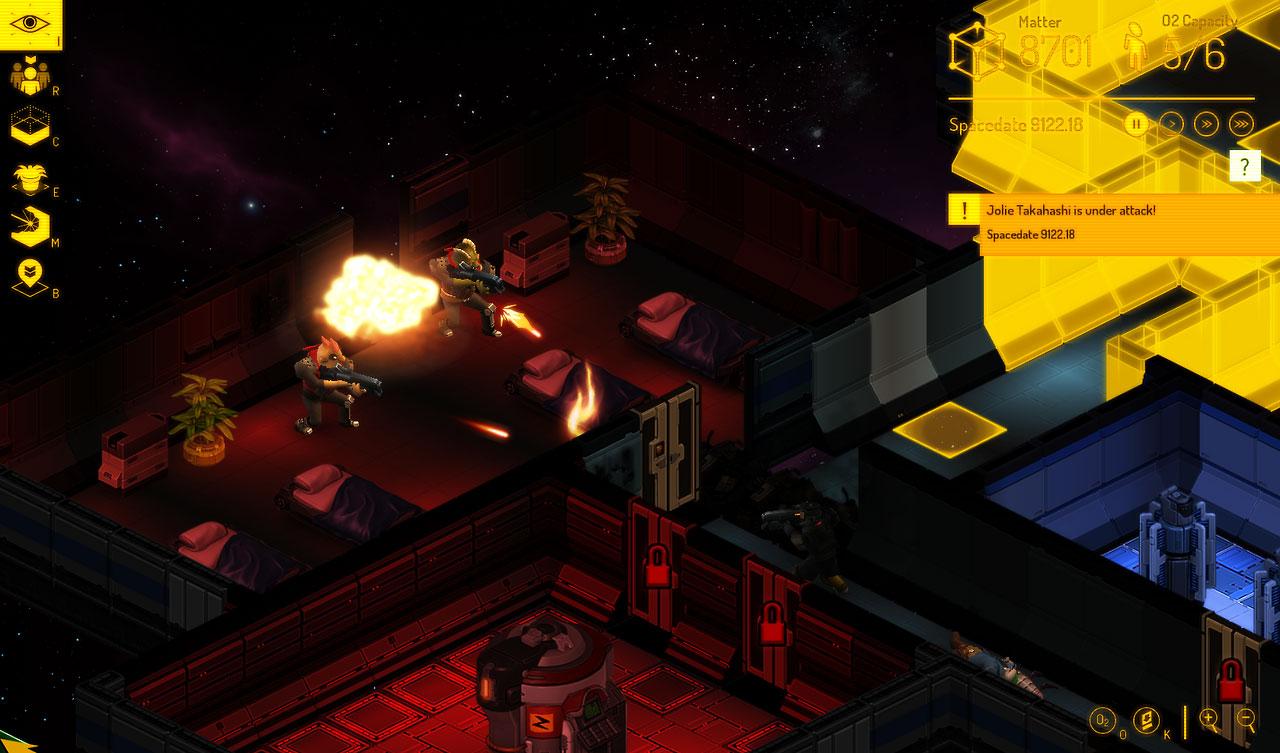 Captura de pantalla de Spacebase DF9