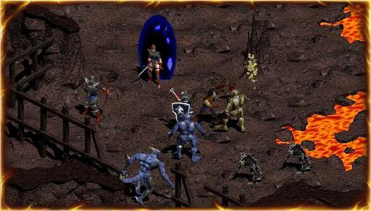 Captura de pantalla de Diablo