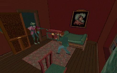 Captura de pantalla de Alone in the Dark