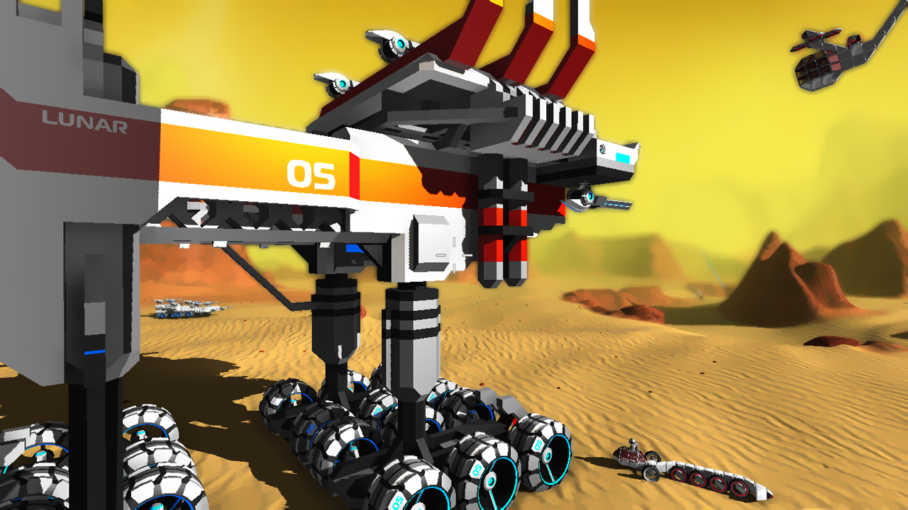 Captura de pantalla de Robocraft