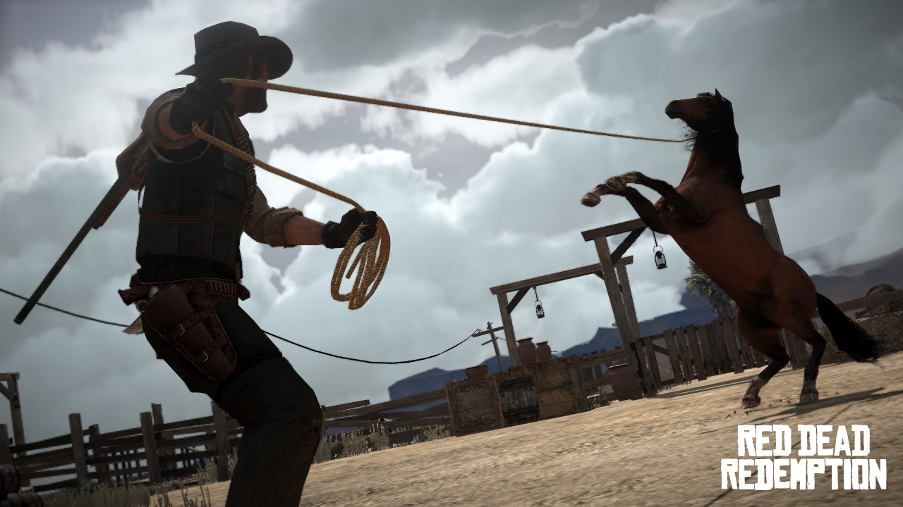 Captura de pantalla de Red Dead Redemption