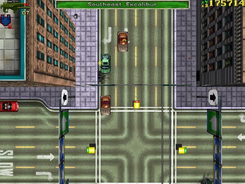 Captura de pantalla de GTA