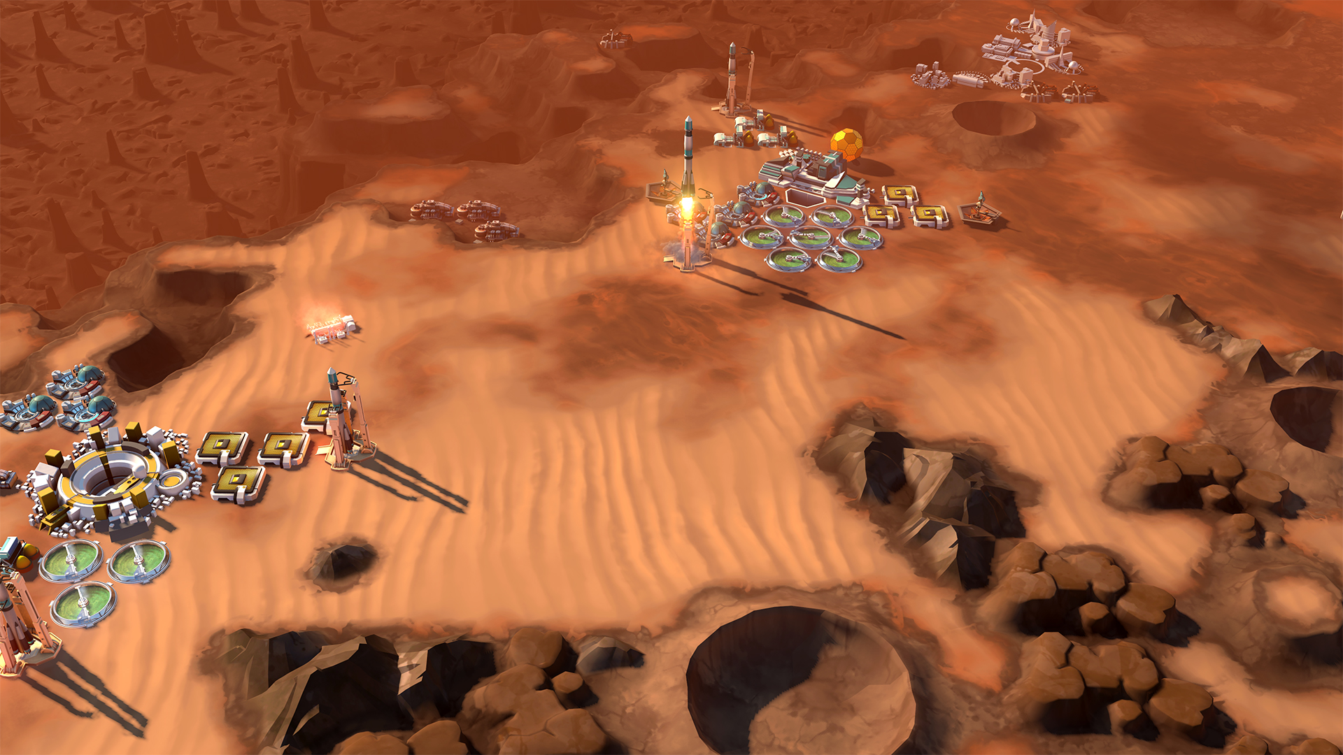 Captura de pantalla de Offworld Trading Company