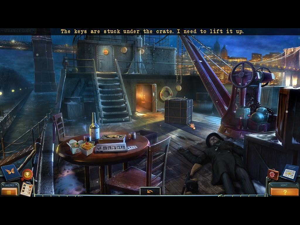 Captura de pantalla de New York Mysteries: Secrets of the Mafia