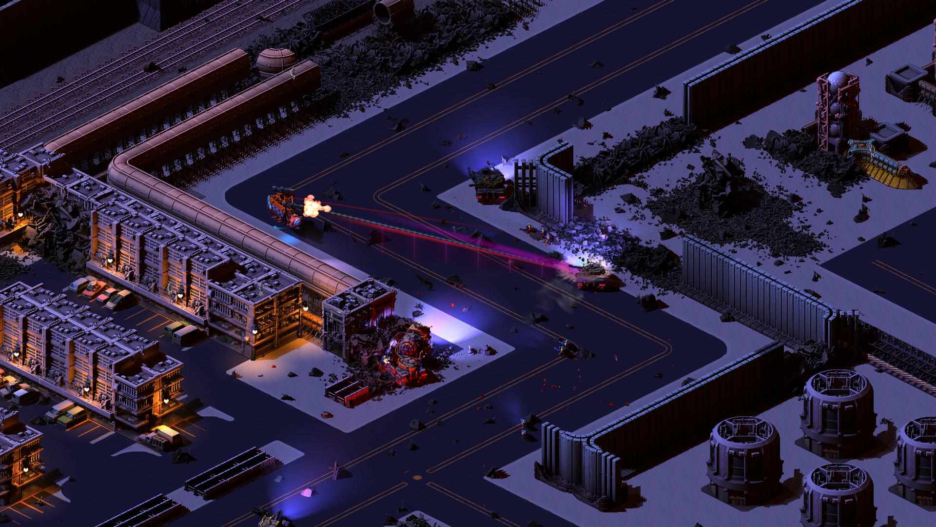 Captura de pantalla de Brigador