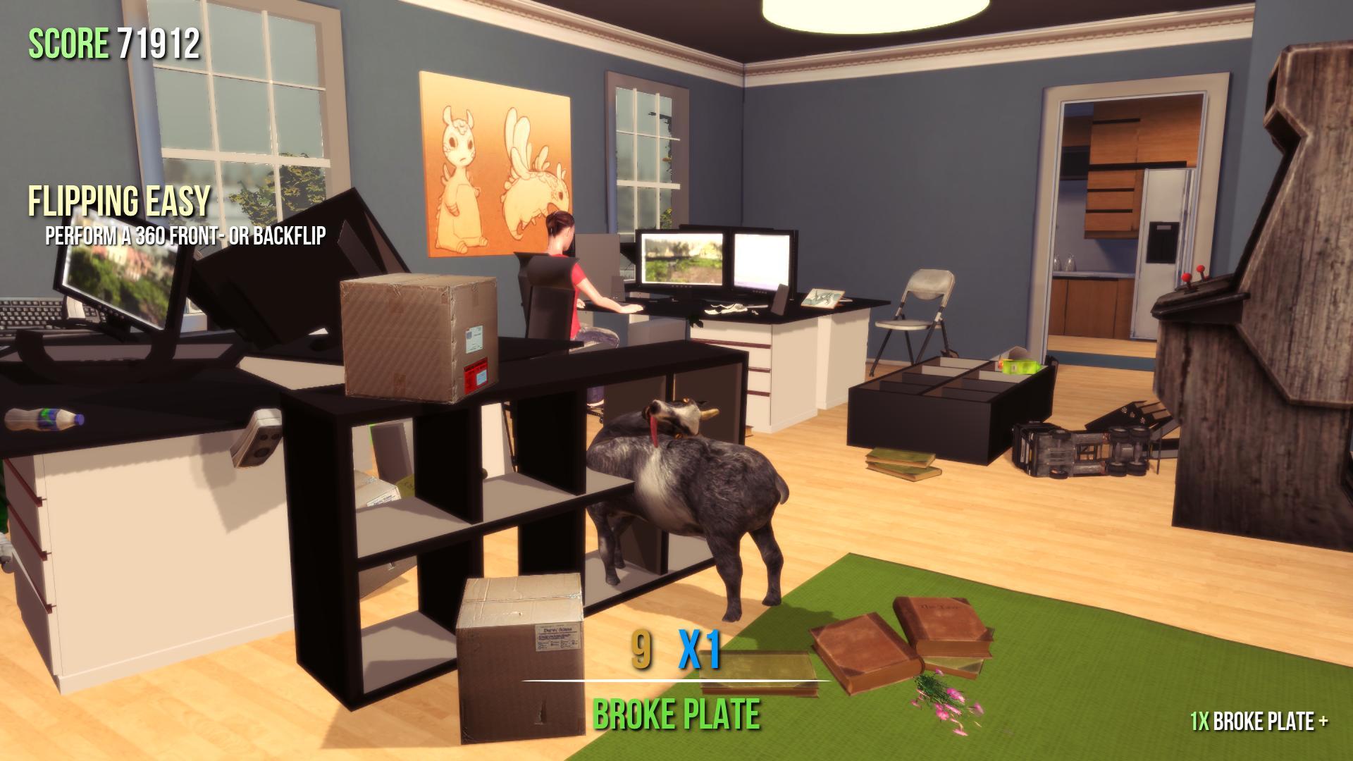 Captura de pantalla de Goat Simulator