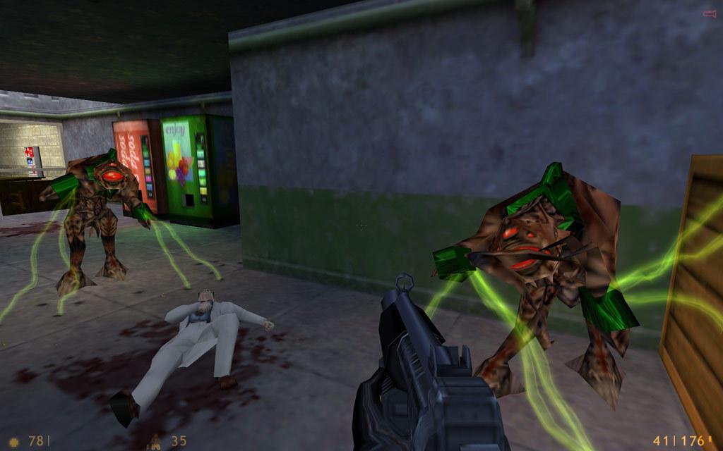 Captura de pantalla de Half Life