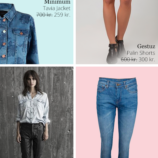 Designers & Friends, Denimtendenser – Must haves