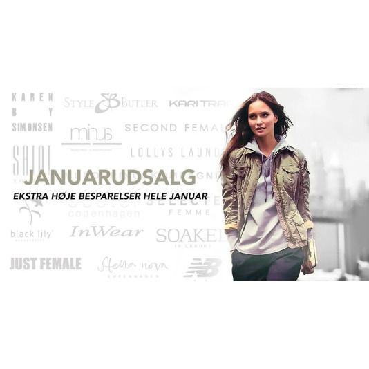 Designers & Friends, Januar udsalg