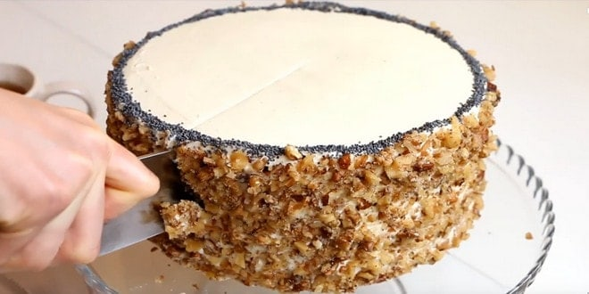 Приготовление торт королевский