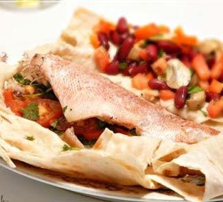 Рыба запеченная в лаваше в фольге в духовке