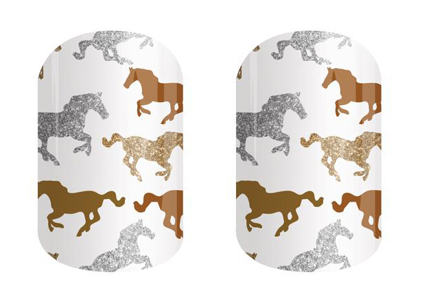 Horse jamberry nails