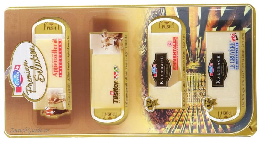Cheese-assortie Сувениры из Швейцарии