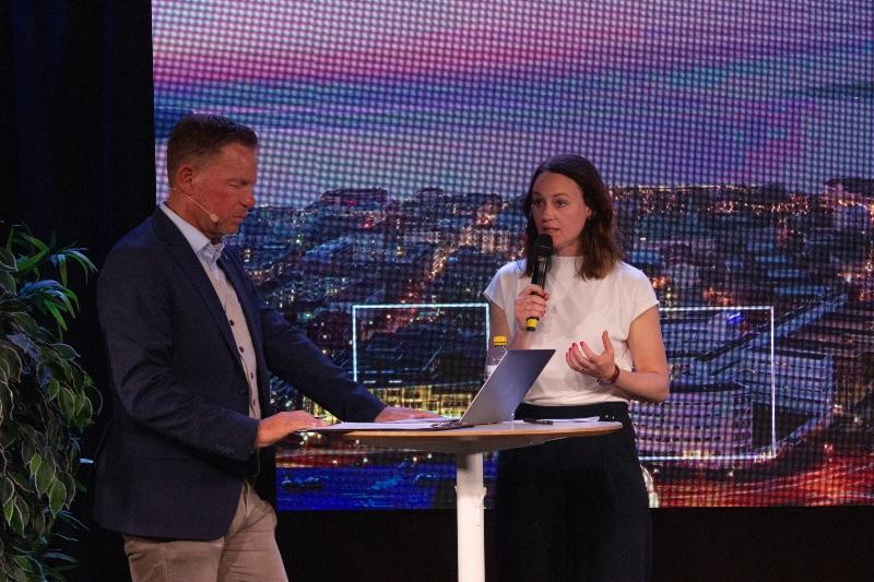 Caroline Törnblad från Destination Jönköping.